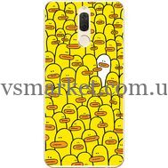 Силиконовый чехол BoxFace Huawei Mate 10 Lite Yellow Ducklings (32844-up2428)