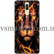 Силиконовый чехол BoxFace Huawei Mate 10 Lite Fire Lion (32844-up2437)