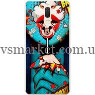 Силиконовый чехол BoxFace Huawei Mate 10 Lite Girl Pop Art (32844-up2444)