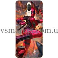 Силиконовый чехол BoxFace Huawei Mate 10 Lite Woman Deadpool (32844-up2453)
