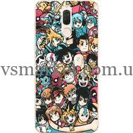 Силиконовый чехол BoxFace Huawei Mate 10 Lite Anime Stickers (32844-up2458)