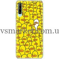 Силиконовый чехол BoxFace Huawei P Smart Pro Yellow Ducklings (38612-up2428)
