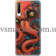 Силиконовый чехол BoxFace Huawei P Smart Pro Octopus (38612-up2429)