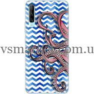 Силиконовый чехол BoxFace Huawei P Smart Pro Sea Tentacles (38612-up2430)
