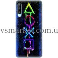 Силиконовый чехол BoxFace Huawei P Smart Pro Graffiti symbols (38612-up2432)
