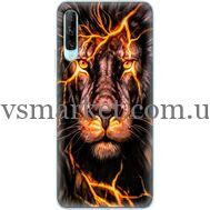 Силиконовый чехол BoxFace Huawei P Smart Pro Fire Lion (38612-up2437)