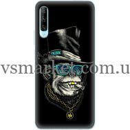 Силиконовый чехол BoxFace Huawei P Smart Pro Rich Monkey (38612-up2438)