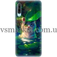 Силиконовый чехол BoxFace Huawei P Smart Pro White Tiger Cub (38612-up2452)