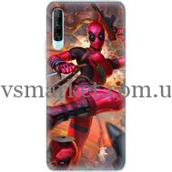 Силиконовый чехол BoxFace Huawei P Smart Pro Woman Deadpool (38612-up2453)