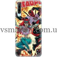 Силиконовый чехол BoxFace Huawei P Smart Pro Deadpool and Mary Jane (38612-up2454)