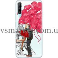 Силиконовый чехол BoxFace Huawei P Smart Pro Love in Paris (38612-up2460)