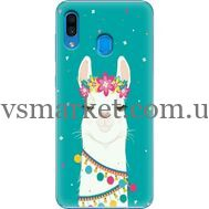 Силиконовый чехол BoxFace Samsung A305 Galaxy A30 Cold Llama (36416-up2435)