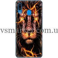 Силиконовый чехол BoxFace Samsung A305 Galaxy A30 Fire Lion (36416-up2437)