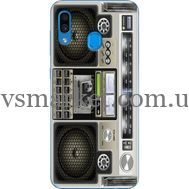 Силиконовый чехол BoxFace Samsung A305 Galaxy A30 Old Boombox (36416-up2446)