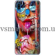 Силиконовый чехол BoxFace Samsung A305 Galaxy A30 Colorful Girl (36416-up2443)