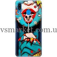 Силиконовый чехол BoxFace Samsung A305 Galaxy A30 Girl Pop Art (36416-up2444)