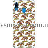 Силиконовый чехол BoxFace Samsung A305 Galaxy A30 Pringles Princess (36416-up2450)