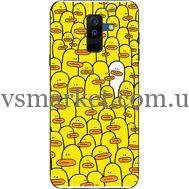 Силиконовый чехол BoxFace Samsung A605 Galaxy A6 Plus 2018 Yellow Ducklings (33377-up2428)
