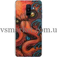 Силиконовый чехол BoxFace Samsung A605 Galaxy A6 Plus 2018 Octopus (33377-up2429)