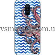Силиконовый чехол BoxFace Samsung A605 Galaxy A6 Plus 2018 Sea Tentacles (33377-up2430)