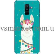 Силиконовый чехол BoxFace Samsung A605 Galaxy A6 Plus 2018 Cold Llama (33377-up2435)