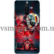 Силиконовый чехол BoxFace Samsung A605 Galaxy A6 Plus 2018 Racing Car (33377-up2436)