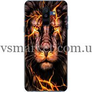 Силиконовый чехол BoxFace Samsung A605 Galaxy A6 Plus 2018 Fire Lion (33377-up2437)