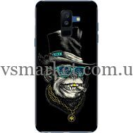 Силиконовый чехол BoxFace Samsung A605 Galaxy A6 Plus 2018 Rich Monkey (33377-up2438)