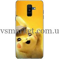 Силиконовый чехол BoxFace Samsung A605 Galaxy A6 Plus 2018 Pikachu (33377-up2440)