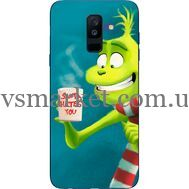 Силиконовый чехол BoxFace Samsung A605 Galaxy A6 Plus 2018 Santa Hates You (33377-up2449)