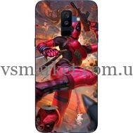 Силиконовый чехол BoxFace Samsung A605 Galaxy A6 Plus 2018 Woman Deadpool (33377-up2453)