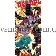 Силиконовый чехол BoxFace Samsung A605 Galaxy A6 Plus 2018 Deadpool and Mary Jane (33377-up2454)