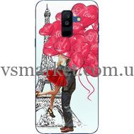Силиконовый чехол BoxFace Samsung A605 Galaxy A6 Plus 2018 Love in Paris (33377-up2460)