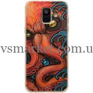 Силиконовый чехол BoxFace Samsung A600 Galaxy A6 2018 Octopus (33376-up2429)