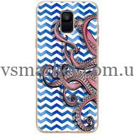 Силиконовый чехол BoxFace Samsung A600 Galaxy A6 2018 Sea Tentacles (33376-up2430)