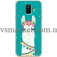 Силиконовый чехол BoxFace Samsung A600 Galaxy A6 2018 Cold Llama (33376-up2435)