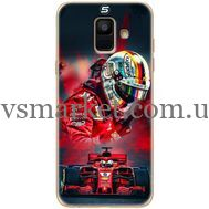 Силиконовый чехол BoxFace Samsung A600 Galaxy A6 2018 Racing Car (33376-up2436)