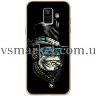 Силиконовый чехол BoxFace Samsung A600 Galaxy A6 2018 Rich Monkey (33376-up2438)