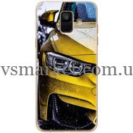 Силиконовый чехол BoxFace Samsung A600 Galaxy A6 2018 Bmw M3 on Road (33376-up2439)