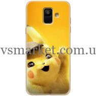 Силиконовый чехол BoxFace Samsung A600 Galaxy A6 2018 Pikachu (33376-up2440)