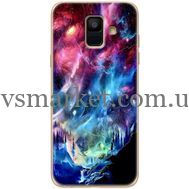 Силиконовый чехол BoxFace Samsung A600 Galaxy A6 2018 Northern Lights (33376-up2441)