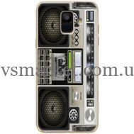 Силиконовый чехол BoxFace Samsung A600 Galaxy A6 2018 Old Boombox (33376-up2446)