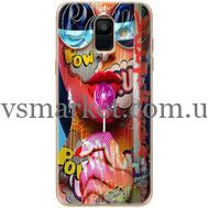 Силиконовый чехол BoxFace Samsung A600 Galaxy A6 2018 Colorful Girl (33376-up2443)