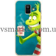 Силиконовый чехол BoxFace Samsung A600 Galaxy A6 2018 Santa Hates You (33376-up2449)