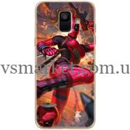 Силиконовый чехол BoxFace Samsung A600 Galaxy A6 2018 Woman Deadpool (33376-up2453)