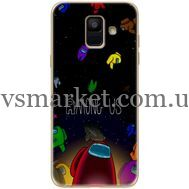 Силиконовый чехол BoxFace Samsung A600 Galaxy A6 2018 Among Us (33376-up2456)