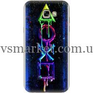 Силиконовый чехол BoxFace Samsung A720 Galaxy A7 2017 Graffiti symbols (27930-up2432)