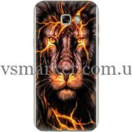 Силиконовый чехол BoxFace Samsung A720 Galaxy A7 2017 Fire Lion (27930-up2437)
