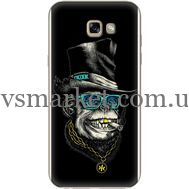Силиконовый чехол BoxFace Samsung A720 Galaxy A7 2017 Rich Monkey (27930-up2438)