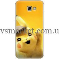 Силиконовый чехол BoxFace Samsung A720 Galaxy A7 2017 Pikachu (27930-up2440)